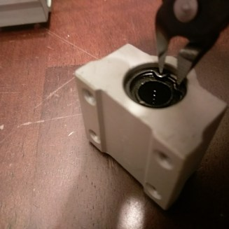 Anet A8 Bearing Block O-Ring