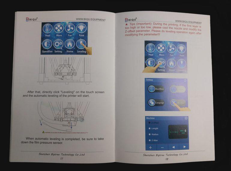 BIQU Magician Instruction Manual Page 1