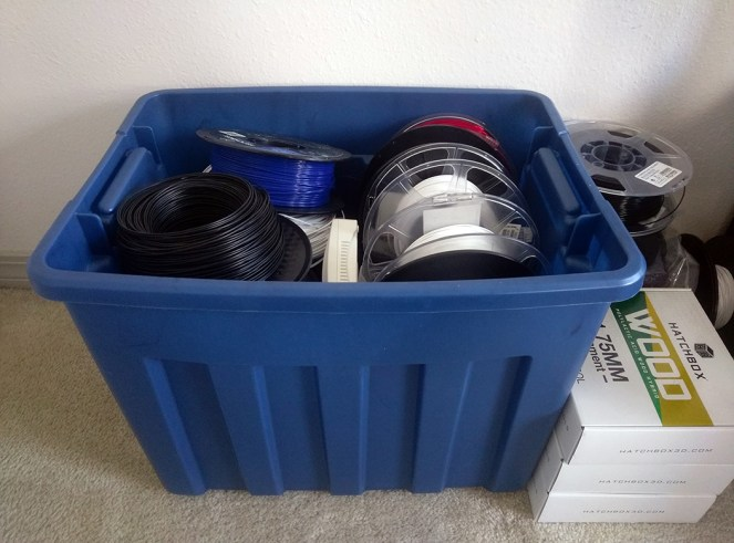 Filament Roll Storage Container
