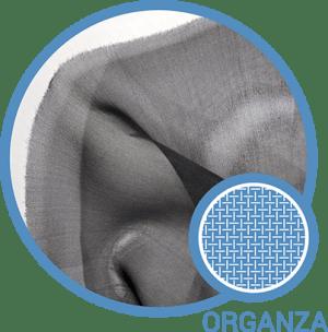 Organza Fabric Material