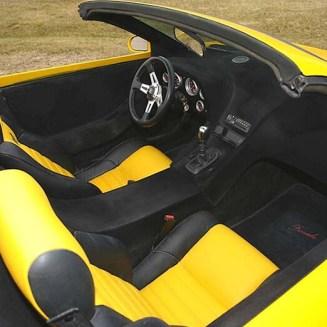 Flocked Car Interior