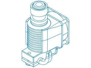 E3D V6 CAD Drawing Schematic
