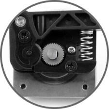 Creality single drive gear extruder