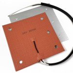 Gulfcoast Robotics Aluminum Build Plate and Silicone Heater