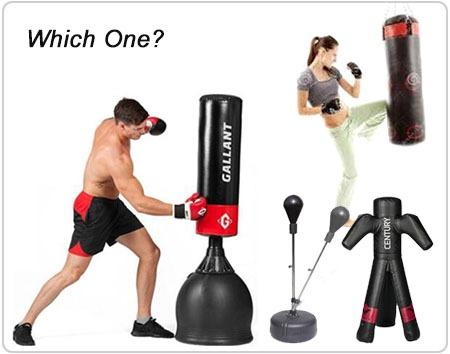 Self Standing Heavy Punching Bag Floor MMA Indoor Boxing Freestanding Striking