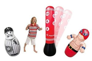 Kids Inflatable Free Standing Punching Bag Review