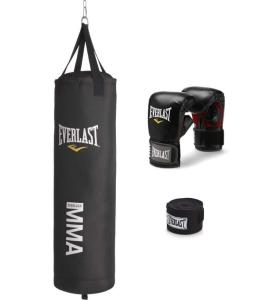 Everlast 70 lbs hanging heavy bag kit review