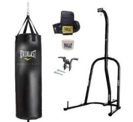 cheap heavy punch bags single station