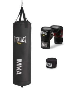Everlast 70 pound canvas mma heavy bag kit review