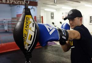 double end punching bag workout
