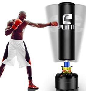 freestanding heavy bag with strong suction