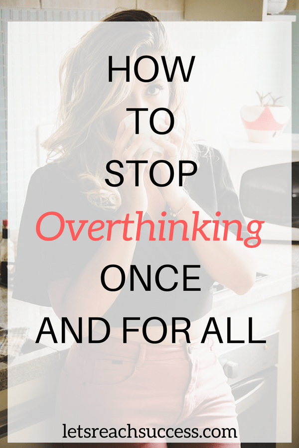 Anxiety and overthinking harm us in many ways. See how we make ourselves miserable by doing it way too much, what causes overthinking stuff and how to stop it once and for all so we can be happy, peaceful and successful: #mentalhealth #stress #overthinking