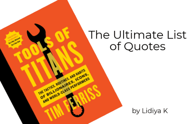 The Ultimate List of Tools of Titans Quotes