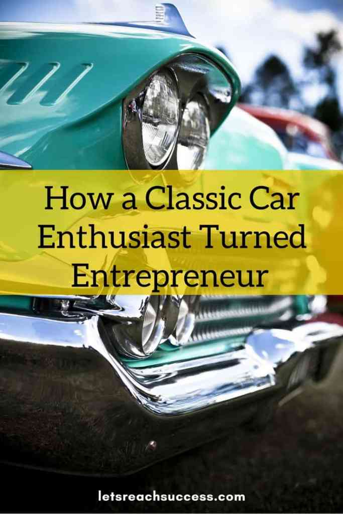 Check out the story of Claus Stig Christensen, CEO of BookAclassic, who managed to turn his passion for classic vehicles into his career, start a business around it, and grow it to 36 countries.