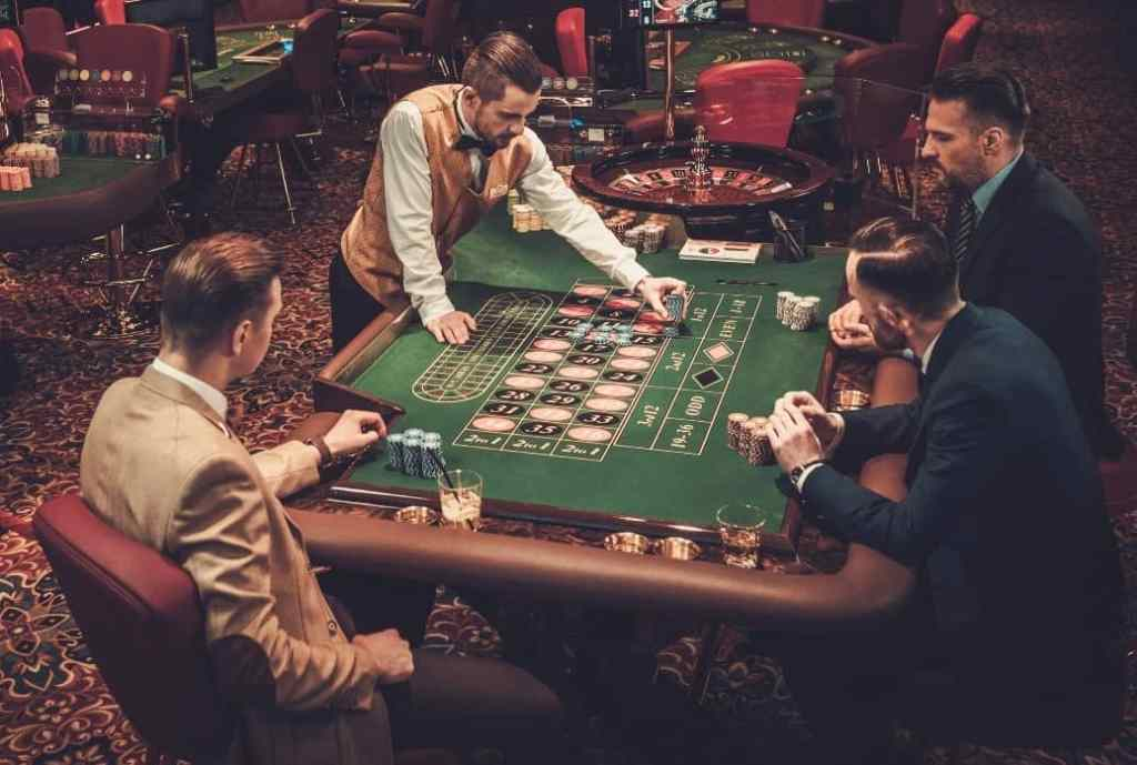 Land-based casinos and technology