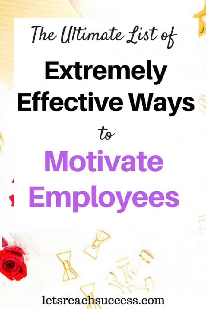If you run a business, your workers are vital to its success. If you haven't found the right ways to motivate employees, then your busienss may struggle to reach its full potential. Here's what you can do about it: