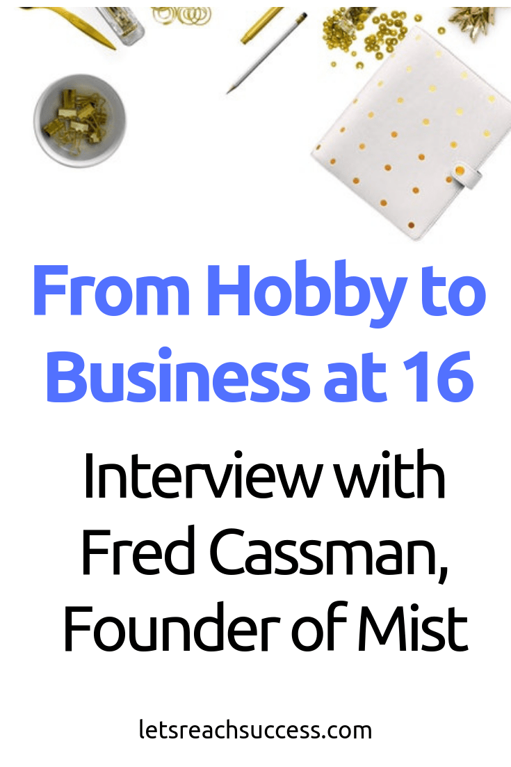 Learn how Fred Cassman, founder of Mist, started a business in a student house, entered the vaping industry, and is building a brand. #interview #ceo #business #sidehustle #vaping
