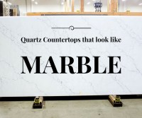 Quartz Countertops That Look Like White Marble - Let's Remodel