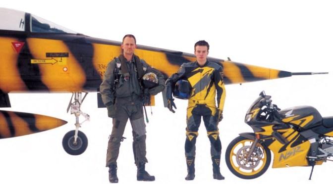 Motards et pilotes de chasse, même combat