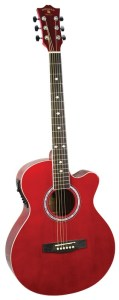 Indiana® Madison Standard Series Acoustic Guitar, Red MAD-RD
