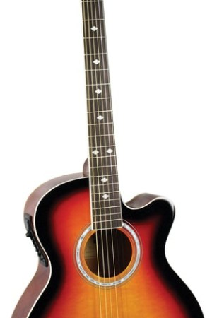 Indiana® Madison Standard Series Acoustic Guitar, Vintage Burst MAD-VB
