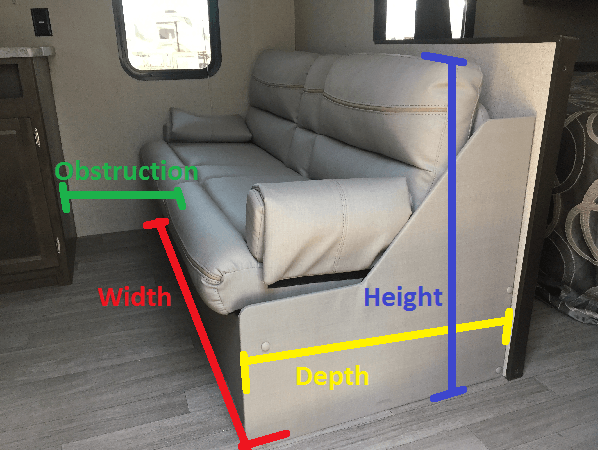sofa beds for motorhomes mart dr rv sleeper bed guide what to know before replacing your depending