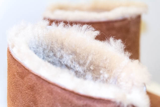 Sheepland slipper boot wool