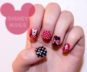 nail art design- disney minnie