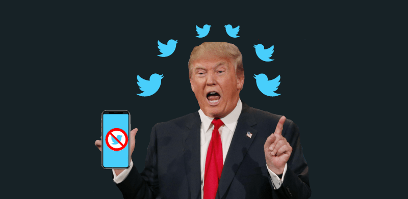Twitter Bans Donald Trump