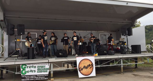 Gavas Beat performing at the Pittsburgh Taco Festival