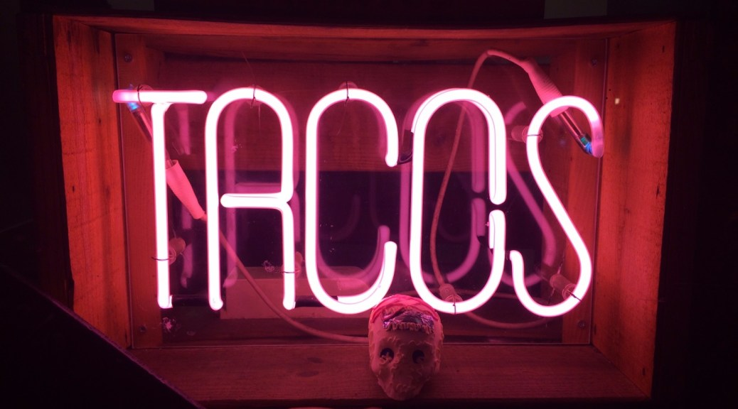 Taco Neon Sign