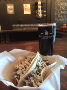 Taco and Beer from Hitchhiker
