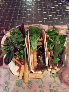 Tacos at Over the bar
