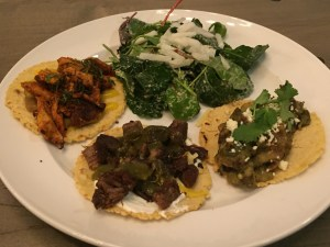 tacos on the plate
