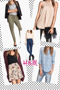 My Top 5 H&M new arrival's Looks!