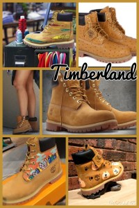 Customise your own Timberland!