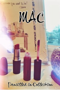 MAC Pencilled in Collection!