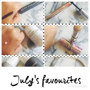 July's favourites