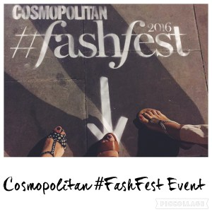 Cosmopolitan Fashfest Event 2016