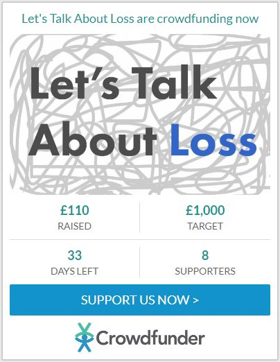 £110 raised for Let's Talk About Loss