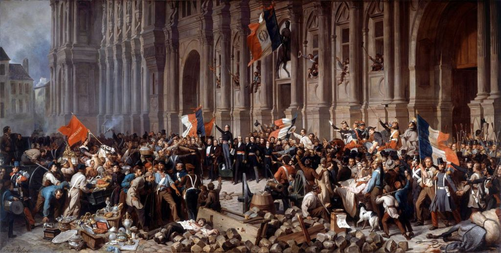 French Revolution of 1848 By Henri Félix Emmanuel Philippoteaux