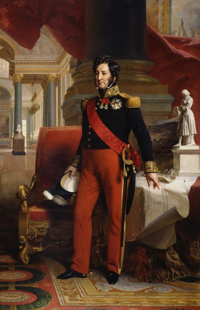 Louis Philippe I - By Franz Xaver Winterhalter