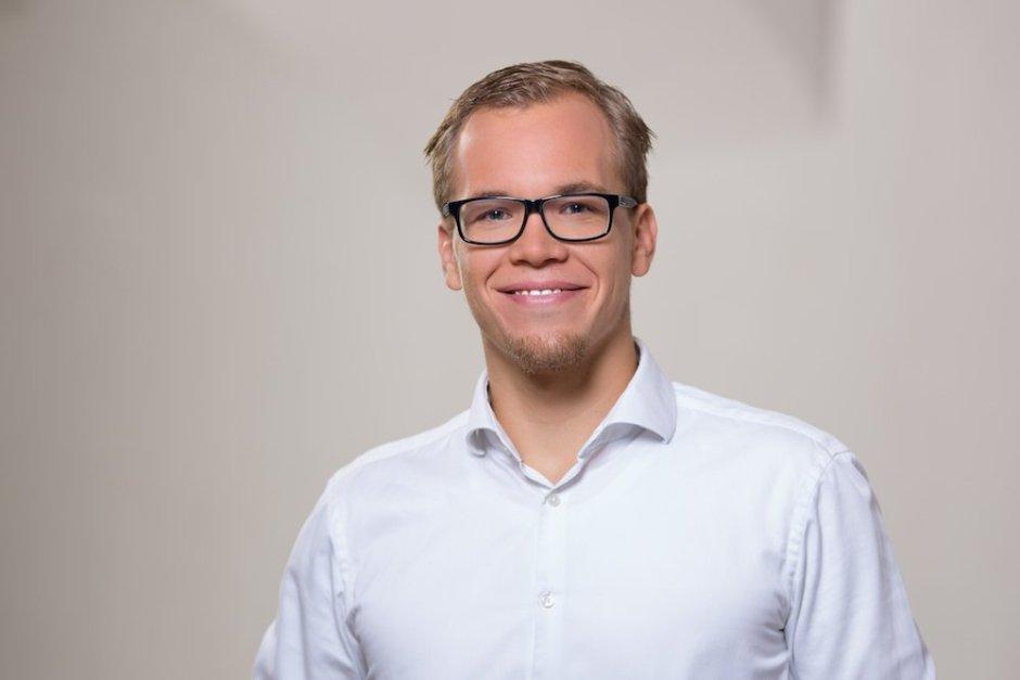 Presono Co-Gründer Martin Behrens. Foto: Werner Harrer