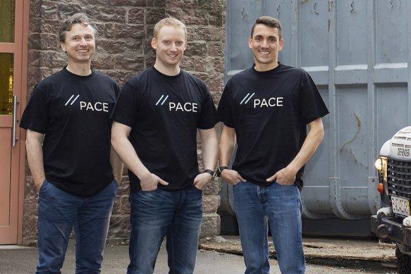 Die PACE-Gründer von links: Robin Schönbeck, Philip Blatter und Dr. Martin Kern.