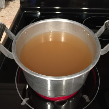 Prepare the Chicken Broth
