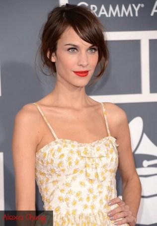 Grammys 2013 Alexa Chung