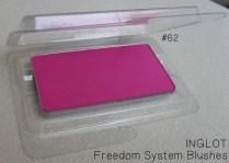 INGLOT - Freedom System Blushes 62