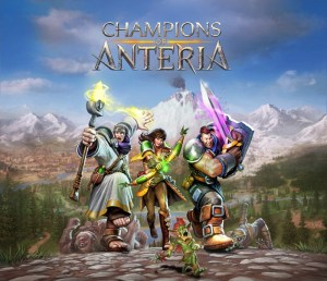 Champions Of Anteria - Key Art