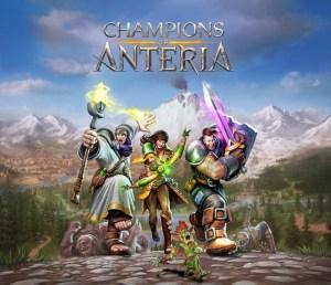 Champions Of Anteria - Key Art