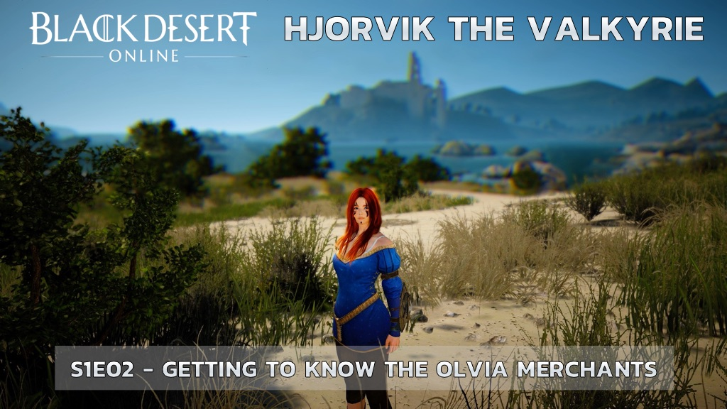 Gaining knowledge about the people of Olvia - Black Desert